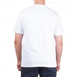 Koszulka POLSKY Basic Flaga Klasyczna - Biała